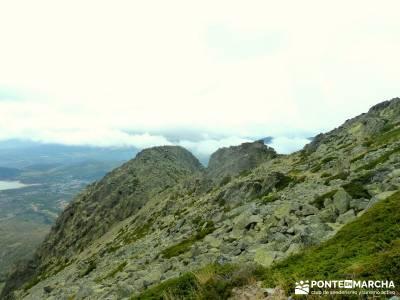 Sur Maliciosa - El Peñotillo; treking rutas y excursiones mapas de madrid